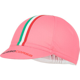 Castelli Rosso Corsa Cycling Cap Herr giro pink